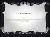 Book Talk Calendar