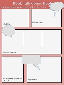 Book Talk Comic Book