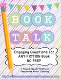 Book Talk: Comprehension Questions & Vocabulary for ANY FICTION Book