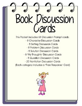 Guided Reading-Discussion Flashcards Packet