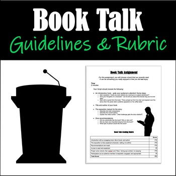 Book Talk Guidelines & Rubric