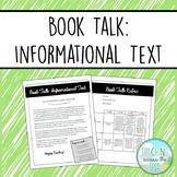 Book Talk book report: Informational Text