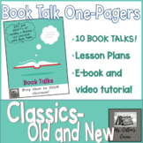 Book Talk One-Pagers - Classics, Old and New - Book Summaries