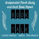 Book Talk Oral Report Presentation BUNDLE: Instructions, Samples, Rubrics,&MORE!