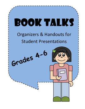 Book Talk Organizers (Grades 4 - 6)