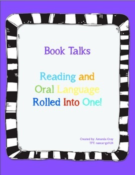 Book Talk Outlines