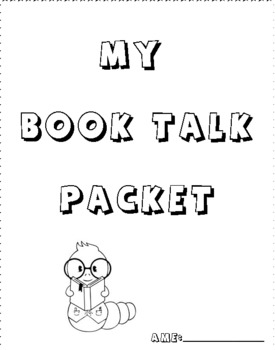 Book Talk Packet for Young Readers