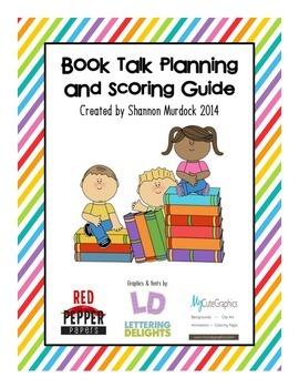 Book Talk Planning & Scoring Guide
