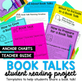 Book Talk Planning Templates and Teacher Guide