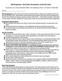 Book Talk Practice Oral Report or Icebreaker Grades 3-6