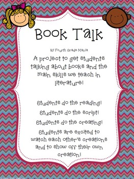 Book Talk Project-Get your students talking about literature!