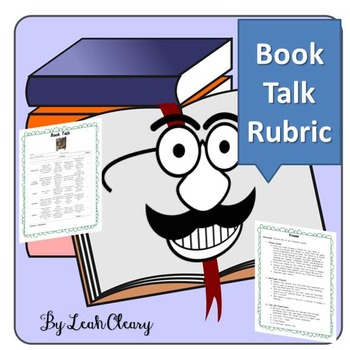 Book Talk Project and Rubric