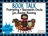 Book Talk: Prompting & Discussion Cards for Guided Reading {Black/White}