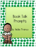 Book Talk and Writing Prompts