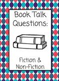 Book Talk Questions