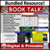 Book Talk Reading Activity Bundle