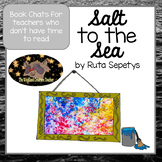 Book Talk Salt to the Sea by Ruta Sepetys