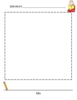 Book Talk Sheet