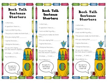 Book Talk Student Checklist