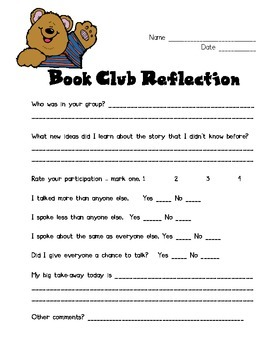 Book Talk Student Reflection