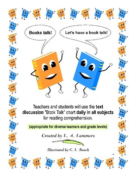 Book Talk Text Discussion for Reading Comprehension