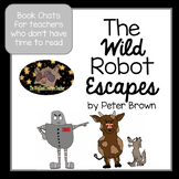 Book Talk The Wild Robot Escapes by Peter Brown