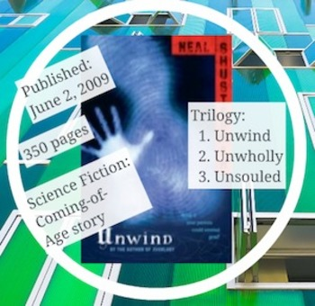 Book Talk: Unwind by Neal Shusterman