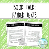 Book Talk book report: Paired Texts