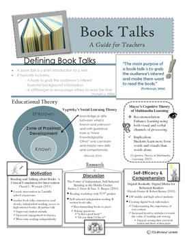 Book Talks: A Guide for Teachers