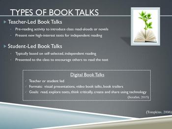 Book Talks: A Professional Development Presentation