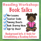 Book Talks: Mini-Lessons, Planning Sheets, Recommendation Cards, Sign-Up Sheet