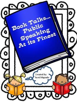 Book Talks & Public Speaking