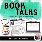 BOOK TALKS: Student Led Literacy Program