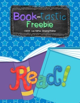 Book-Tastic FREEBIE - ELA & Math Printables