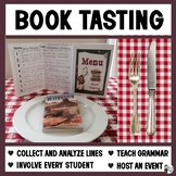 Book Tasting: A Scavenger Hunt Smorgasbord