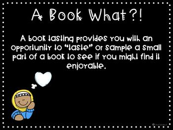 Non Fiction Book Tasting Unit