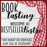 "Book Tasting ""Bestseller Bistro"" Activity Event Set menu p"