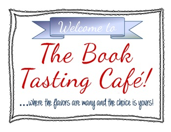 Book Tasting-A Fun & Effective Way for Students to Choose Good Fit Books