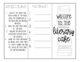 Book Tasting Activity / Handout / Brochure / Foldable