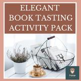Elegant Book Tasting Activity Pack