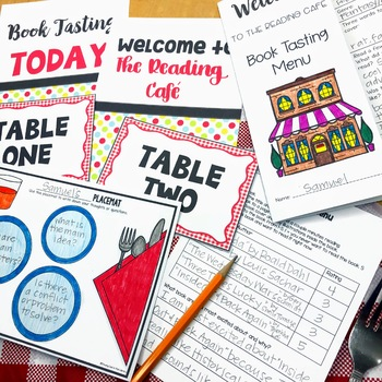Book Tasting Activity Packet