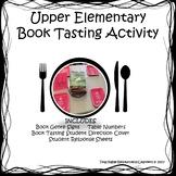Book Tasting Activity 4 Upper Elementary