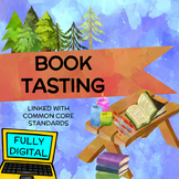 Book Tasting Activity for Introducing Novel Study