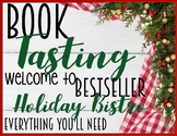 "Book Tasting ""Bestseller Holiday Bistro"" Activity Event Set Holiday Christmas"