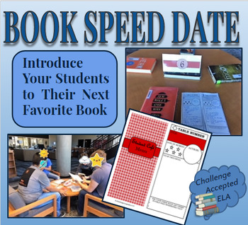 Book Speed Date