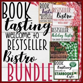 Book Tasting Bundle Growing Bestseller Bistro, Thanksgiving, Holiday/Christmas