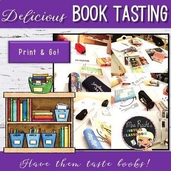 Book Tasting - ESL/EFL Library Discovery