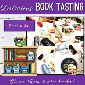 Book Tasting - Library Discovery