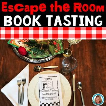 Book Tasting Escape Room