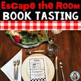 Read Across America Activities |Dr. Seuss Week Alternative| Book Tasting Escape